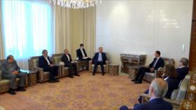 Firmeza de Siria e Irán conllevó a la victoria ante el terrorismo