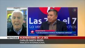Santa María: Almagro debe ser juzgado por crimen contra Bolivia