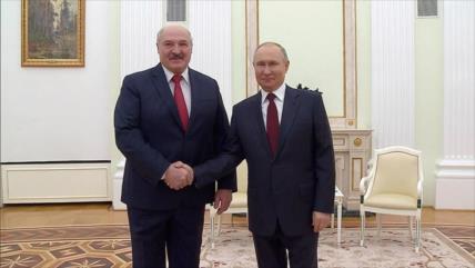 Putin expresa el sólido apoyo de Rusia a Bielorrusia ante amenazas