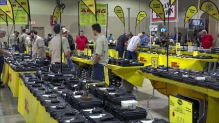 México pide reforzar control transfronterizo ante comercio de armas