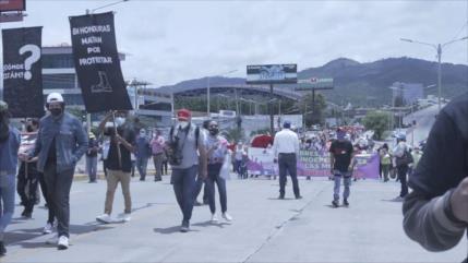 Marchan en Honduras contra el proyecto capitalista de las ZEDES