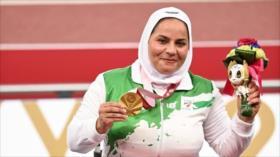 Atletas iraníes ganan dos oros y una plata en Juegos Paralímpicos