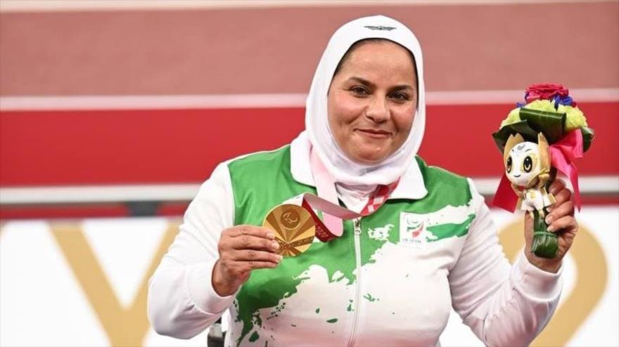 Atletas iraníes ganan dos oros y una plata en Juegos Paralímpicos | HISPANTV