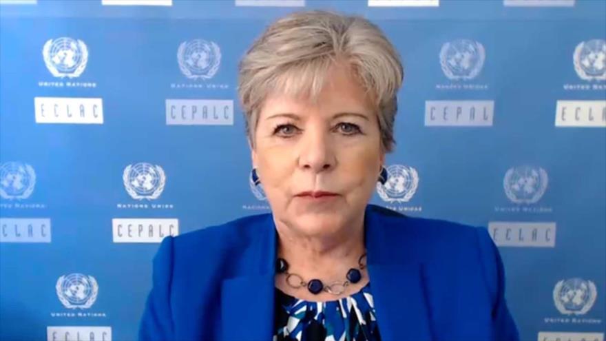 La secretaria ejecutiva de la Comisión Económica para América Latina y el Caribe (Cepal), Alicia Bárcena.