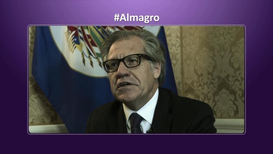 Etiquetaje: Países latinoamericanos piden renuncia de Luis Almagro