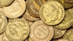 Descubren 239 monedas de oro en renovación de una mansión francesa