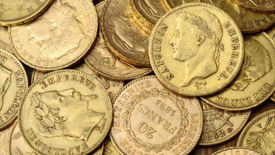 Descubren 239 monedas de oro en renovación de una mansión localizada en la región de Bretaña (oeste de Francia).