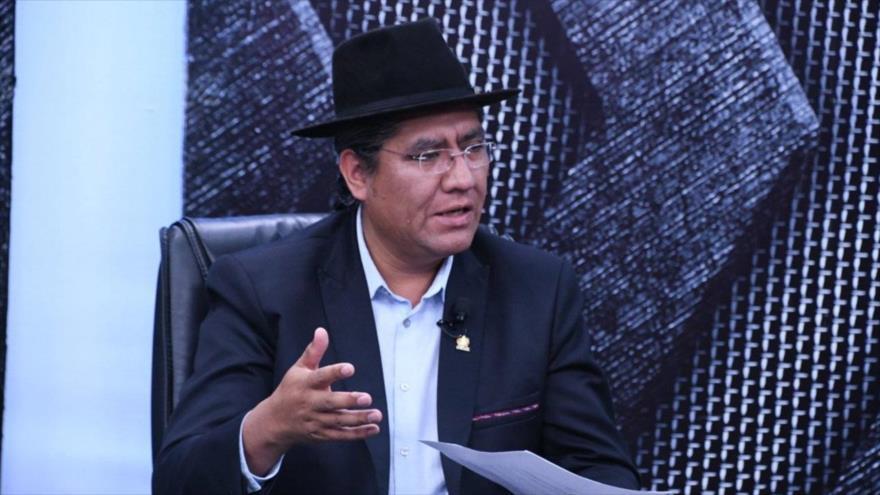 El actual enviado de Bolivia ante las Naciones Unidas, Diego Pary.