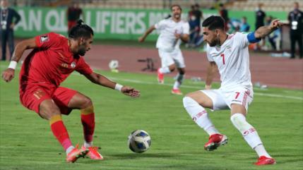 Eliminatorias de Asia: Irán vence a Siria por 1 a 0