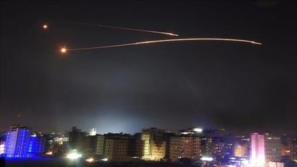 Siria repele otra agresión israelí contra Damasco