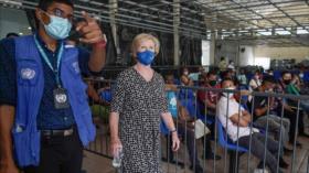 La ONU alerta del aumento del flujo migratorio en Centroamérica
