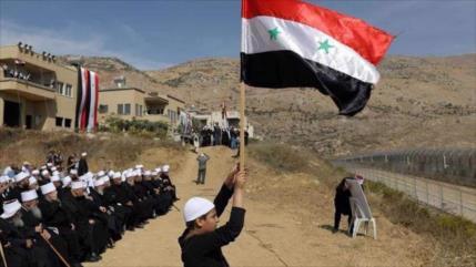 Siria exige presiones a Israel para que respete a sirios de Golán
