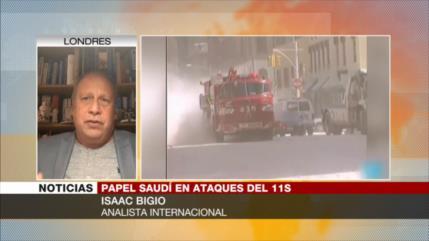 Bigio: Atentados del 11-S fueron organizado por saudíes