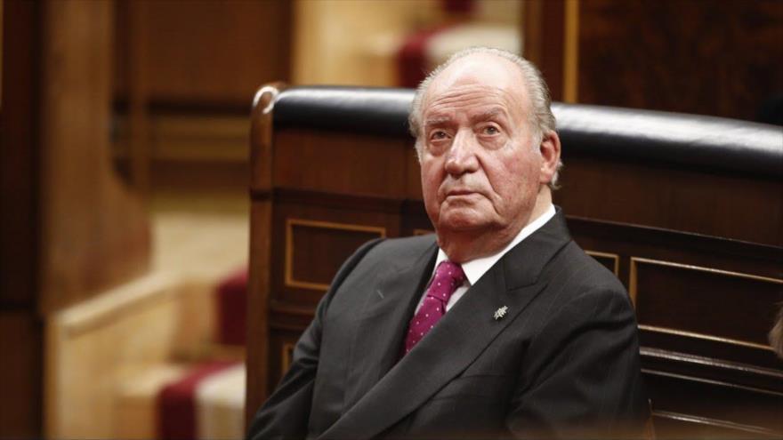 El rey emérito de España Juan Carlos I participa en un acto en el Congreso, Madrid, 6 de diciembre de 2018. (Foto: Europa Press)