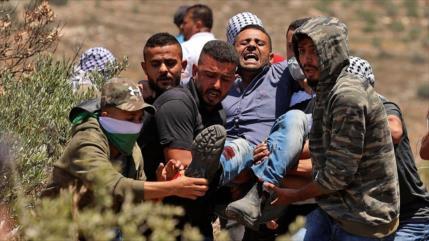 82 palestinos heridos, saldo de otro viernes negro en Cisjordania