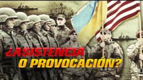 Detrás de la Razón: EEUU Y Ucrania 'amigos' contra Rusia