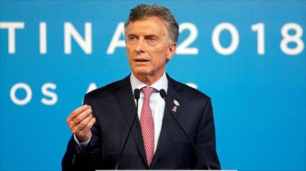 'Fernández se tiene que ir': Argentina censura golpismo de Macri