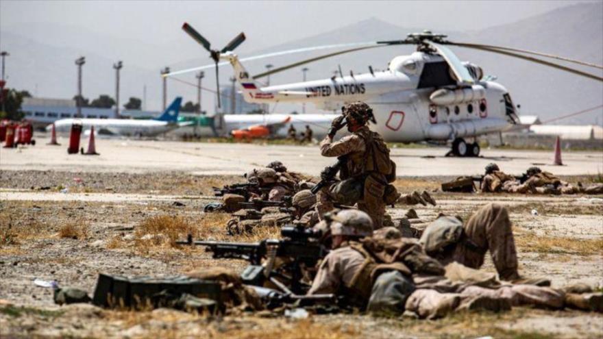 Le Figaro: Declive de EEUU se acentúa con la crisis en Afganistán   HISPANTV