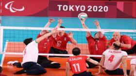 Voleibol sentado de Irán gana medalla de oro en los JJPP de Tokio