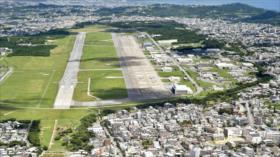 Infantes de Marina de EEUU vierten agua tóxica en ciudad japonesa
