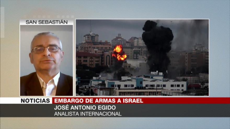 """Egido: Israel es """"potencia militarista"""" que viola derechos humanos   HISPANTV"""