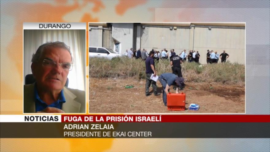 """""""Fuga de palestinos demostró vulnerabilidad de cárceles israelíes""""   HISPANTV"""