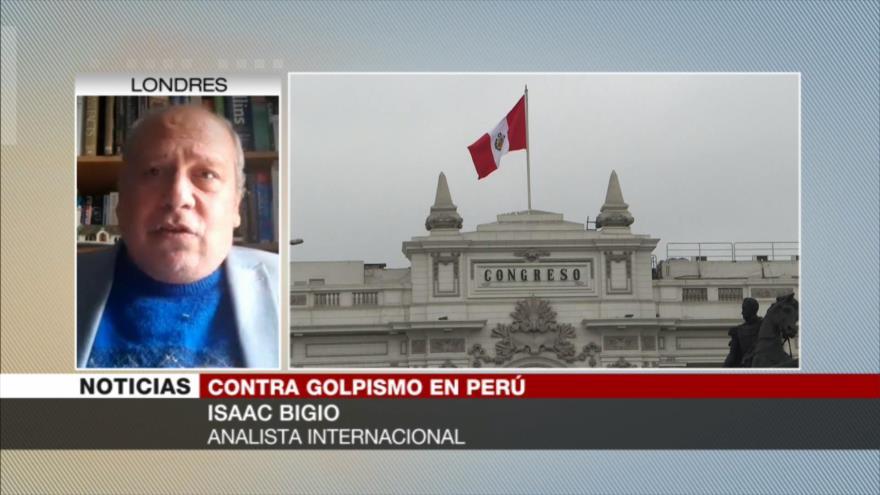 Bigio: Derecha peruana hace maniobras para sacar a Castillo