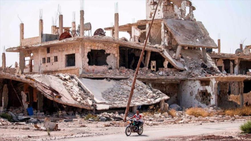 Cientos de militantes deponen armas en Daraa, suroeste de Siria   HISPANTV