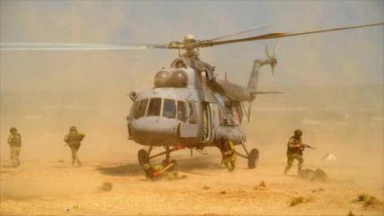 Rusia y Siria llevan a cabo un ejercicio conjunto de helicópteros
