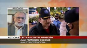 Coloane: EEUU busca derrocar a Ortega mientras pierde hegemonía
