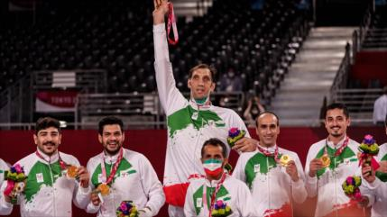 Irán logra 24 medallas en los Juegos Paralímpicos de Tokio 2020