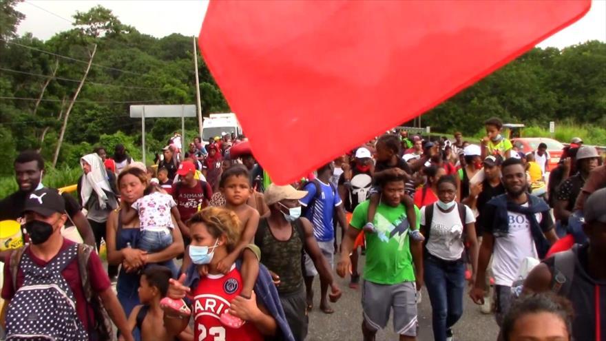 Tienden emboscada para migrantes en la frontera sur de México
