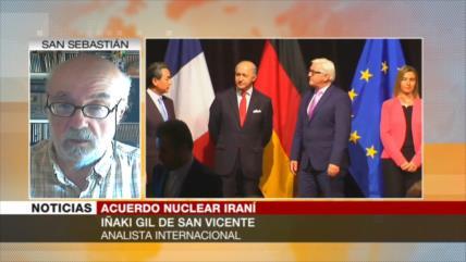 Iñaki Gil: Europa no hizo nada para salvar pacto nuclear con Irán