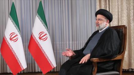 Presidente Raisi afirma que programa nuclear iraní es transparente