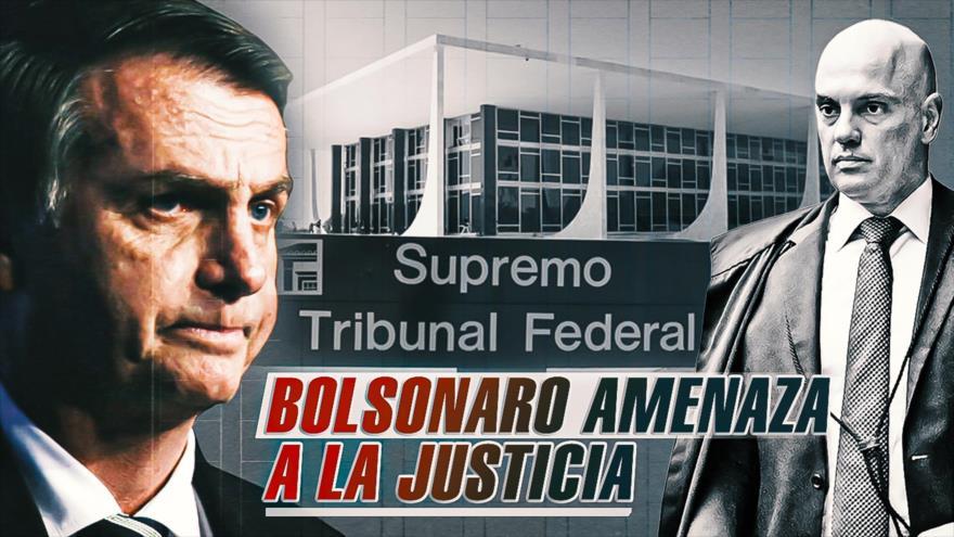 """Detrás de la Razón: """"Sólo Dios me saca"""", Bolsonaro amenaza de nuevo"""