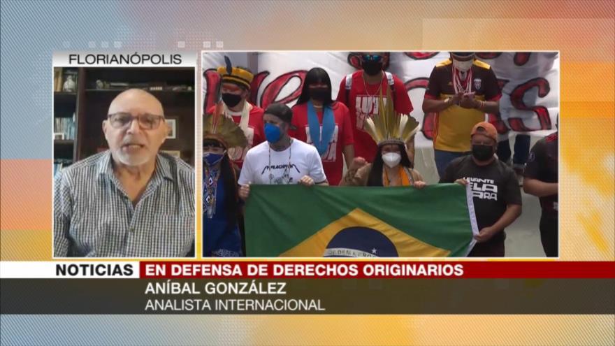 González: En Brasil, los indígenas pierden y las empresas ganan