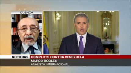 Robles: Colombia es un títere de EEUU y solo cumple sus órdenes