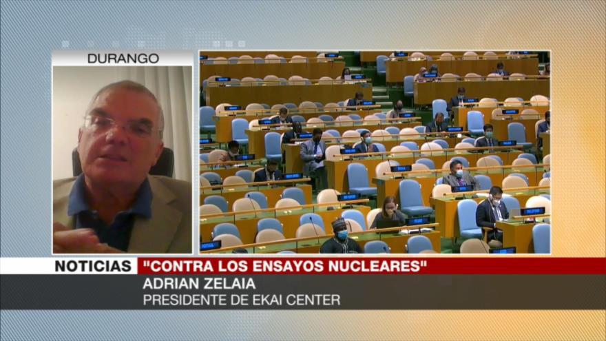 Zelaia: EEUU aviva carrera nuclear por temor a perder su hegemonía