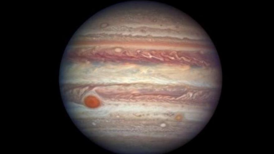 Una foto de Júpiter. (Foto: NASA)