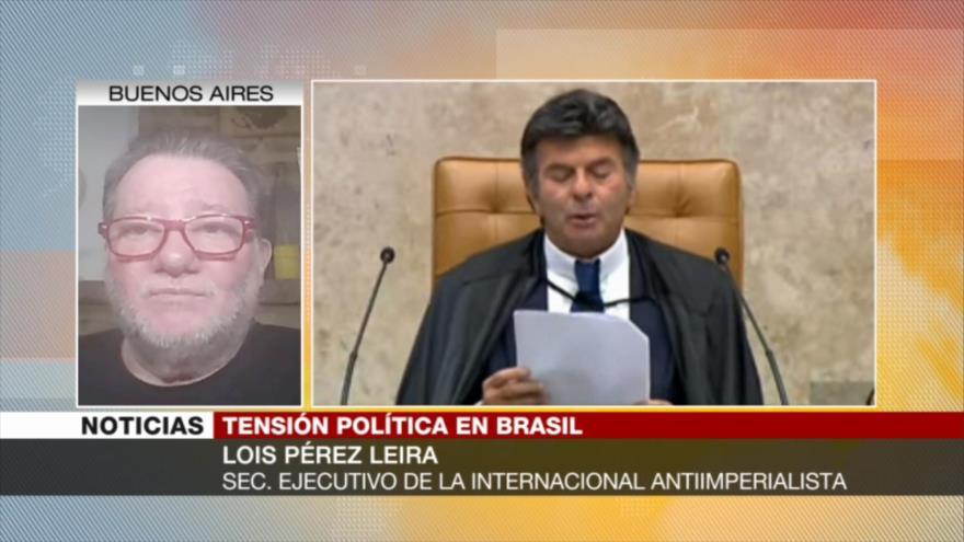 Leira: Bolsonaro intenta impulsar un autogolpe con apoyo de FFAA