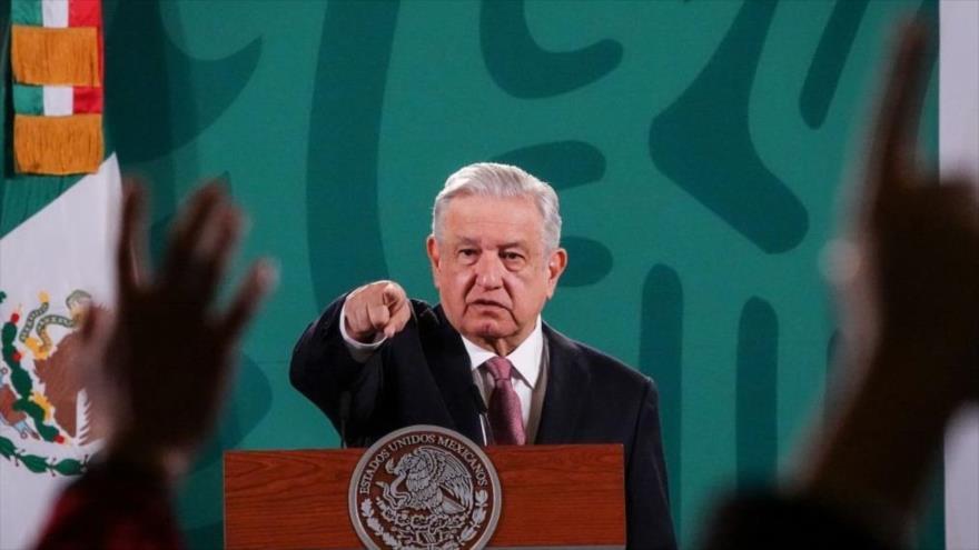 """López Obrador: México no es """"pelele"""" de EEUU en materia migratoria"""