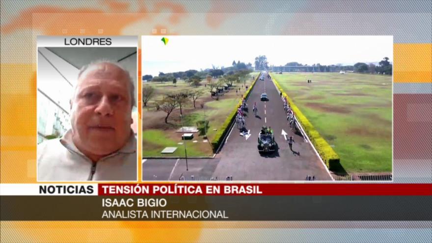 Bigio: Aliados de Bolsonaro buscan transformarle en un Fujimori