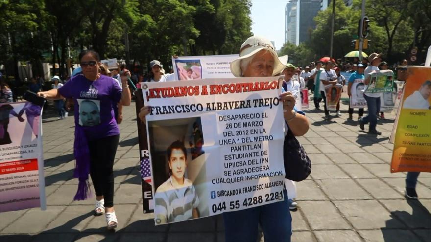 México lidera cifras de desaparecidos en América Latina