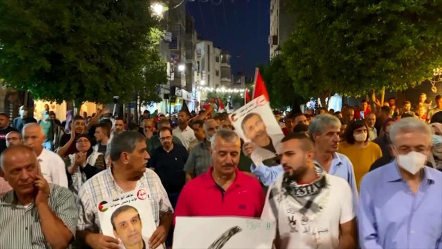 Palestinos apoyan a presos fugados de una cárcel israelí