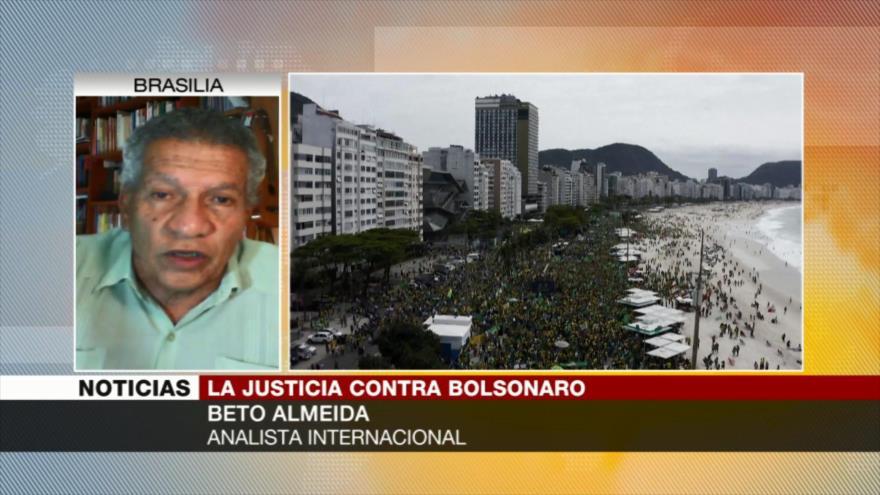 Almeida: Bolsonaro está en una situación bastante desequilibrada   HISPANTV