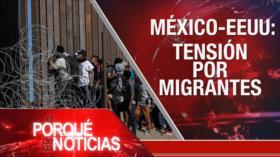 El Porqué de las Noticias: Crisis en Afganistán. Tensión por migrantes. DDHH pistoeados en Colombia