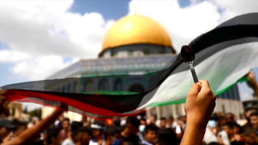 Marchan en apoyo de presos palestinos que fugaron de cárcel israelí   HISPANTV