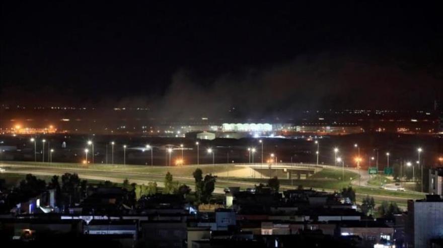 Atacan con drones base militar de EEUU en el norte de Irak