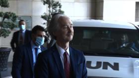 Enviado especial de ONU se reúne con funcionarios sirios