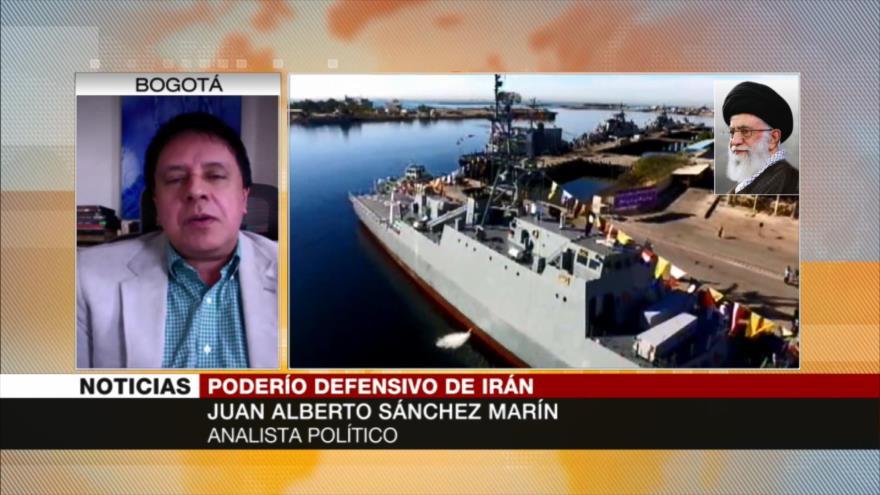 Sánchez: Navegar en Atlántico mostró gran capacidad defensiva de Irán